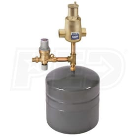 "Caleffi Boiler Trim Kit, 1-1/4"" Sweat Connection w/ 4.4 gal Expansion Tank, No BackFlow Preventer"
