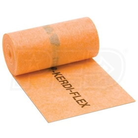 "Schluter KERDI-FLEX - 5"" Width - Flexible Waterproofing Strip - 16' 5"" Length - 12 mil Thickness"