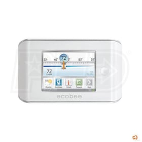 ecobee Business Series - EB-EMS-02 - Internet Enabled Energy Management System Thermostat - 4H/2C - 7-Day Programmable