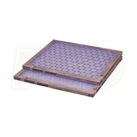 Flanders Precisionaire HD  - 18'' x 18'' x 1'' - Heavy Duty Disposable Filters - MERV 5 - Qty. 12