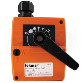 tekmar 742 - Actuating Motor - 10 N•m Rotary Motion