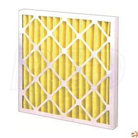 Flanders Pre Pleat Class 1 - 20'' x 25'' x 2'' - High Capacity Fire Rated Filters - MERV 8 - Qty. 12