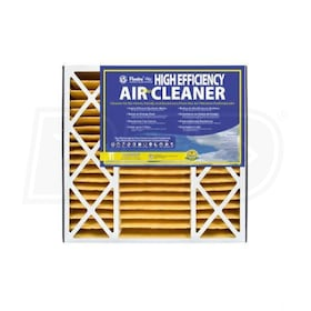 Flanders 20'' x 25'' x 5'' - Replacement Air Cleaners - MERV 11 - Qty. 2