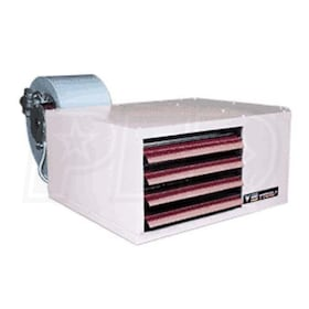 Reznor UDBP-125 Power Vented High Static Gas Fired Unit Heater - NG - Aluminized Heat Exchanger - 115/1/60 - 120,000 BTU
