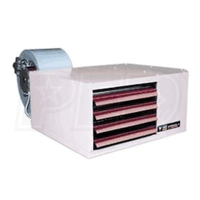 Reznor UDBP-125 Power Vented High Static Gas Fired Unit Heater - LP - Aluminized Heat Exchanger - 115/1/60 - 120,000 BTU