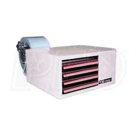 Reznor UDBS-200 High Static Gas Fired Unit Heater - Separated Combustion - NG - Aluminized Heat Exchanger - 115/1/60 - 200,000 BTU