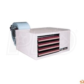 Reznor UDBS-200 High Static Gas Fired Unit Heater - Separated Combustion - LP - Aluminized Heat Exchanger - 208/3/60 - 200,000 BTU