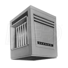 Reznor X-250 Gas Fired Duct Furnace - Gravity Vented - LP - Aluminized Heat Exchanger - 250,000 BTU