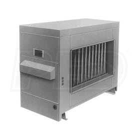 Reznor RP-150 Gas Fired Duct Furnace - Power Vented - LP - Aluminized Heat Exchanger - 150,000 BTU