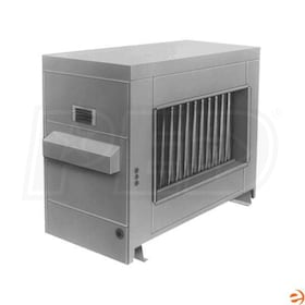 Reznor RP-225 Gas Fired Duct Furnace - Power Vented - NG - 409 Stainless Steel Heat Exchanger - 225,000 BTU