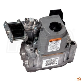 "Honeywell Direct Ignition Dual Automatic Valve Combination Gas Control, NG or LP, Standard Opening - 1/2"" In x 1/2"" Out"