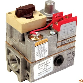 "Honeywell Millivoltage Combination Gas Control, NG or LP, Standard Opening - 3/4"" In x 3/4"" Out"