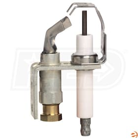 "Honeywell Pilot Burner, 1/4"" Compression Connection, Left Facing Tip"