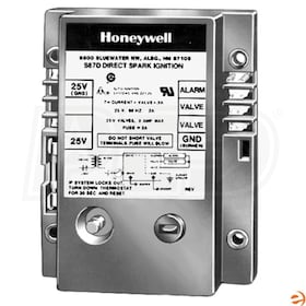 Honeywell Direct Spark Ignition Pilot Module, Two Rod, 4 Second Ignition
