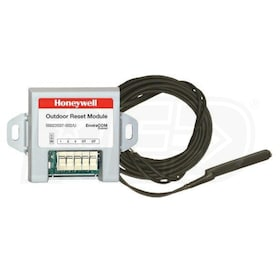 Honeywell Wall Mounted Outdoor Reset Kit, 24V,includes Water Pipe Temperature Sensor & DHW Module