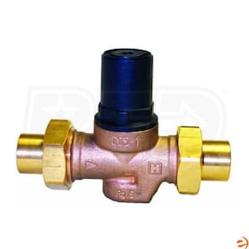 "Honeywell Compact Design Pressure Regulating Valve, Union body, no tailpieces, 3/4"" FNPT Connection"