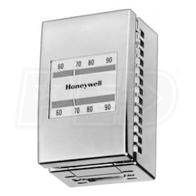 Honeywell Pneumatic Day/Night Thermostat, 2 Pipes, Direct Acting Heating, two temp