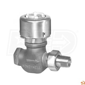 "Honeywell Pneumatic Radiator Valve, 5 Cv, 3/4"" Nominal End Connection"