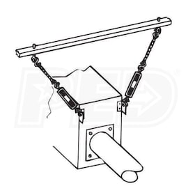 Reznor CK11 Hanger Kit for Reznor TR/TR-H/TRP Infrared Heaters - 50 ft.