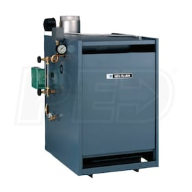 Weil-McLain EG-50-S-PIDN-T - 109K BTU - 82.8% AFUE - Steam Gas Boiler - Chimney Vent - With Tankless Opening