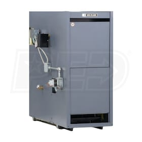 Weil-McLain LGB-9-S - 632K BTU - 81.0% Combustion Efficiency - Steam Gas Boiler - Chimney Vent