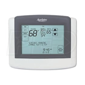 Aprilaire Communicating Thermostat - Dual-Stage Heating/Cooling