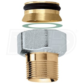 "Caleffi Series NA103 - Connection Fitting - 1/2"" NPT Male Connection"