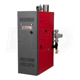 Crown Boiler AWR140 - 117K BTU - 83.6% AFUE - Hot Water Propane Boiler - Chimney Vent
