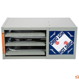 Modine Hot Dawg HD - 45,000 BTU - Unit Heater - LP - 80% AFUE - Power Vented - Aluminized Steel Heat Exchanger