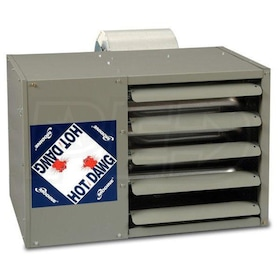 Modine HDB - 60,000 BTU - Unit Heater - LP - 80% AFUE - Power Vented - Aluminized Steel Heat Exchanger