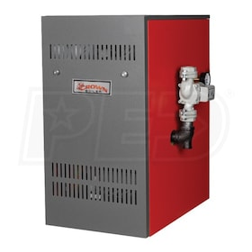Crown Boiler BWF128 - 106K BTU - 82.8% AFUE - Hot Water Propane Boiler - Direct Vent