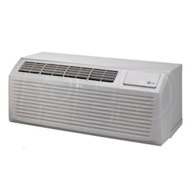 LG 7,000 BTU - Packaged Terminal Air Conditioner (PTAC) - Heat Pump - 2.5 kW Electric Heat - 208-230V