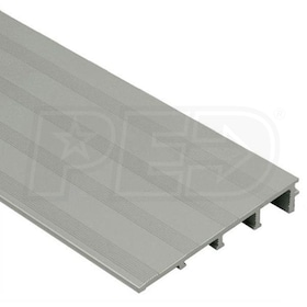 "Schluter RENO-RAMP-K - Height Transition Profile - For 1/2"" Thick Tile - 8' 2-1/2"" Length - Satin Anodized Aluminum - 2-1/2"" Ramp"