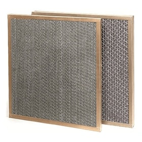 Flanders Model C - 16'' x 25'' x 1'' - Honeycomb Carbon Panel Gas Phase Odor Control Filter