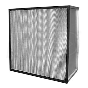 Flanders Alpha Cell - 23.375'' x 23.375'' x 11.5'' - Standard Capacity HEPA Filter - Pureform Style - 99.97% Efficiency