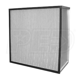 Flanders Alpha 2000 - 24'' x 12'' x 11.5'' - High Capacity HEPA Filter - Separator Style - 99.97% Efficiency