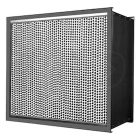 Flanders Alpha HT - 12'' x 12'' x 11.5'' - High Temperature HEPA Filter - Pureform Style - 99.97% Efficiency