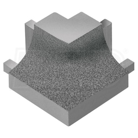 Schluter DILEX-AHK - 90 Degree Square Outside Corner - Tuscan Pewter Coated Aluminum