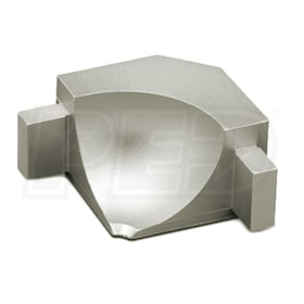 Schluter DILEX-AHKA - 90 Degree Inside Corner - Satin Nickel Anodized Aluminum
