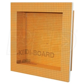 "Schluter KERDI-BOARD-SN - 12"" W x 12"" H x 3-1/2"" D - Prefabricated Shower Niche"