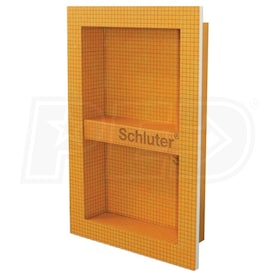 "Schluter KERDI-BOARD-SN - 12"" W x 20"" H x 3-1/2"" D - Prefabricated Shower Niche"