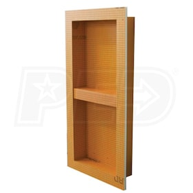 "Schluter KERDI-BOARD-SN - 12"" W x 28"" H x 3-1/2"" D - Prefabricated Shower Niche"
