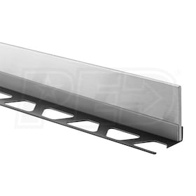 "Schluter SHOWERPROFILE-SB - 78-3/4"" Length - Linear Drain Tapered Profile - For 3/8"" Tile - 2"" Height"