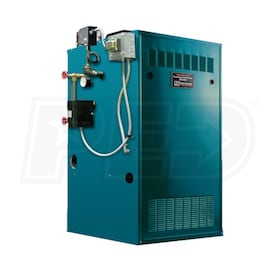 Burnham IN5PVNI - 87K BTU - 82.2% AFUE - Steam Gas Boiler - Power Vent - Packaged with Trim