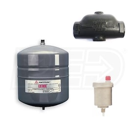 "Amtrol Extrol - 4.4 Gallon - In-Line Expansion Tank Combination Kit - 1-1/4"" Purger  & Vent"