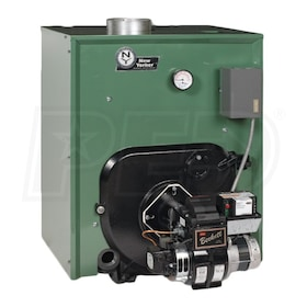 New Yorker CL5-280 - 238K BTU - 84.7% AFUE - Hot Water Oil Boiler - Chimney Vent - Includes Tankless Coil
