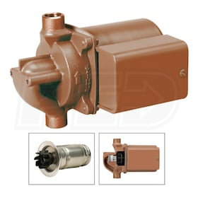 "Taco 006 - SmartPlus - 1/40 HP - Hot Water Recirculation Pump - Bronze - With Smart-Pulse Control - 1/2"" Sweat"