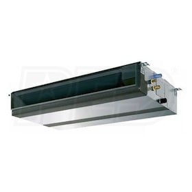 Mitsubishi - 18k BTU - M-Series Concealed Duct Unit - For Multi or Single-Zone
