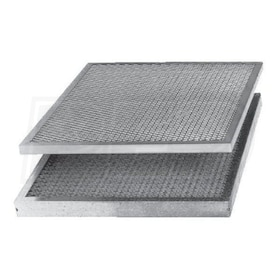 Flanders KKM - 16'' x 25'' x 1'' - Washable Permanent Filters - Qty. 6