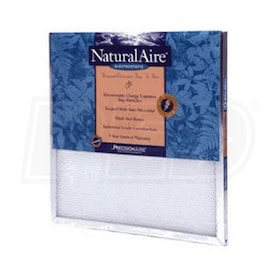 Flanders NaturalAire Electrostatic - 10'' x 20'' x 1'' - Washable Air Filters - MERV 10 - Qty. 12